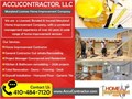 AccuContractor LLC is Maryland Home Improvement Company MHIC - 135805 and a General Contractor co