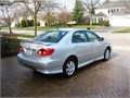 Up for sale 2008 Toyota Corolla S sports package fully loaded very clean inside and out well kept