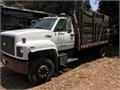 1994 Chevrolet Kodiak runs greatgasfuel injectionV-8 360 engineStake truck16 X 8 ft bednew t