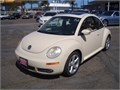 2007 vw beetle 91k miles 5 cyl auto leather beige interior with a cream exterior