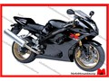This is only a complete fairing set for Suzuki 2003 2004 GSXR 1000 motorcyclesIt is brand new afte