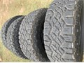 Goodyear Wrangler Duratrac Tires Like New 27565R18 Only 500 miles on them Dont pay retail when