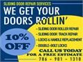 For hard-to-open Sliding Doors We offer the highest quality of Sliding Glass Door Roller Repair  R