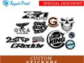 Custom stickers printing can come throughout as plenty of high quality for the profitable advertisin