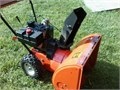 Yard Machine 10hp 24  2 stage electric start snow blower Good conditionNeeds a tune up