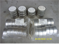 New 3 round tin containers 50 cents 909-983-7427