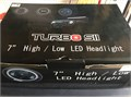 7 LED headlights for motorcyclePhone calls only no texts100 OBO