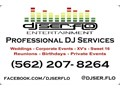 Music for any occasion All genres of music available Up-lights and custom monogram projection ava