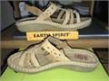 Sandals Ladies Earth Spirit Size 10 Color Bark LN Never Worn 2000 803-443-8970