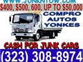 24 HRS TOWING SERVICE CALL US NOW 323 308-8974We Buy All Kinds of Junk Carscall us for fast