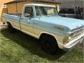 1968 ford 250 Sport custom 390 4 speed new paint new tiers rims brakes carpet dash chrome etc  690