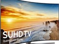 This 78-inch Curved Television features both 4K Ultra HD resolution and High Dyn