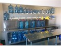 Purified Drinking Water We offer purified drinking water service stop and refill your water bottle