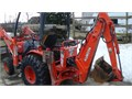 Backhoe Kubota B21 4x4 Diesel  Not To Be Confused With The Smaller BX Model  Automatic Power Ste