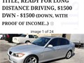 2007 BMW 328i Silver with Black leather interior Fully loaded 125k very clean and runs like new C