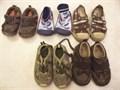 sandals 5-6  lace camo sneaker sz 5 childrens placeblue sneaker sz5 circo brown plaid sneaker s