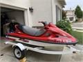 1998 Kawasaki 1100 STX 2 stroke engine jet ski with trailer 3 seater low hours brand new battery
