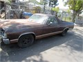 1972  El Camino  4  speed  need  some  work   be  don  i got 5 years ago Seating  long long time s