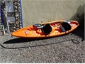 Pelican 12 8 2 person sit on top Kayak Great condition Includes Padded Seat Backs and Paddle