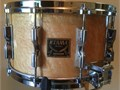 Vintage cira 1980s 10 lug snare drum Great looking and sounding with deep tone or can be tuned h
