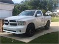 Super clean like new 2015 Ram with 305 horsepower V6 This Ram has the towing package Rhino lined b