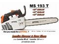 STIHL MS193T Chain saws