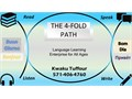 Step into the World of Language Learning with the 4 Fold Path where we Speak Listen Read and Wri