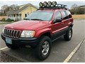 2002 Jeep Grand Cherokee Overland 47HO AWD automatic fully loaded 96983 miles very clean rust free