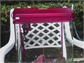 12 gallon hot pink aquarium  light and filter built in the hood  excellent condition  call 818-889