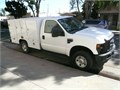 2008 Ford F-250 XL Super Duty truck for sale 4 wheel drive standard cab with custom utility body