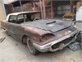 1960 Ford Thunderbird Hardtop 2 Door Big Block 430 Motor  Engine and automatic transmission Proj
