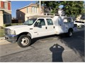 2003 Ford F550 Crew Cab truck 60 dieselLadder rackservise bodyautosair conditionNew battery