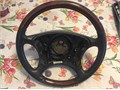 Mercedes Benz wood steering wheels w220 s class 430500600 Good conditions