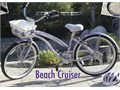 Beautiful 26 Womans Comfort Beach Cruiser with 7-speeds with fenders in lilac or lavender color I