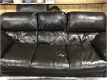 Faux Leather Chocolate Couch  In excellent condition  Just bought a new one  Need gone asap  Smo