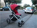 UPPAbaby Vista Stroller and Bassinet  The seat can face you or the world  The seat adjust into 3 p