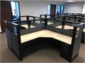 Used Ethospace cubiclesDouble pedestalsNO glassCheck our other inventories atwwwSo