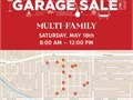 MEGA MULTI-FAMILY GARAGE SALESaturday May 18th from 8AM - 12PMMaps will be provided for part