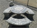 Concrete tables and fountains I have many tables to choose fromAll my display fountains on SALE
