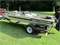 2010 model Bass Tracker 17 Pro  Has a oil injected 60 hp Mercury Outboard with speed propDoes NOT