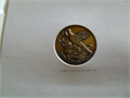 1984 OLYMPICS EARLY SUPPORT FOR BUYING OLYMPIC TICKETS before Aug 15th 1983 commemorative lapel