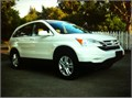 For sale is an excellent running 2008 Honda CRV EXL  White exterior with gray leather interior hea
