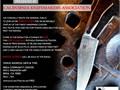 MARCH 2 CalKnives presents 2019 Spring Custom Knife ShowOver 50 custom mid-tech  high-end Maker