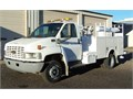 2004 Chevy 4500 81 Gas V-8 Auto 9 Ft Omaha Bed 2Ft Catwalk Autocrane 3203 with Remote 104 K M