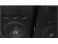 Ross 18 Sub Woofers Cabinet Pair great for a church or club