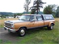 2WD Was a 360 4V w cruise AC tilt power windows etc It now has a 1975 440 with basic stock r