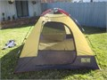 Ridgeway Dome Tent 7 x  7  54 tall Sleeps 2-3 MINT CONDITION  used one trip for 2 days complete