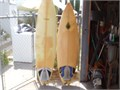 two wegner surf boards 125 each call 818 248 1344 12500 818-248-1344