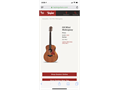 Taylor Gs mini acoustic guitar Brand newmint condition Comes with Taylor Gs mini carrying case A