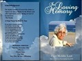 Earth Ashes Dust designs custom funeral and memorial service programs tailored to your needs We dra